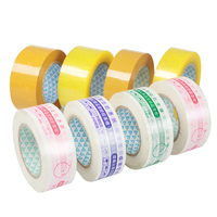 Bopp Logo Printed packing tape high quality Strong Adhesive Packing Waterproof Tape