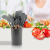 Black color plastic handle knives with utility function knife for kitchen