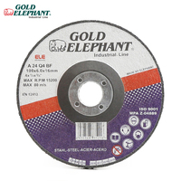 Gold Elephant High quality abrasives 4 inch grinding disc grinding wheel for metal and inox angle grinder
