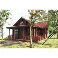WH-LT002 outdoor prefab log cabin wood