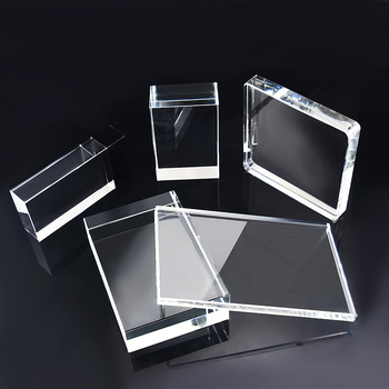 Wholesale Clear Crystal K9 Blank Cube 3d Photo Laser Engraving Block