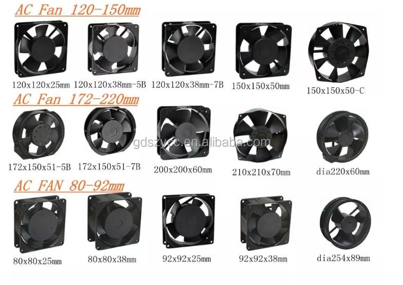 fan factory 7020 70mm small slient fan 70x70x20mm dc brushless 12v 24v dc axial flow fans