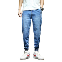 cotton balloon jean Factory custom mens denim trousers cotton Loose jeans men Wholesale jeans pants for boys