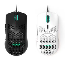 AJ390 Light Weight Wired Mouse Hollow-out Gaming Mouse Mice 6 DPI Adjustable 7 Keys for Windows 2000/XP/Vista/7/8/<strong>10</strong> <strong>Systems</strong>