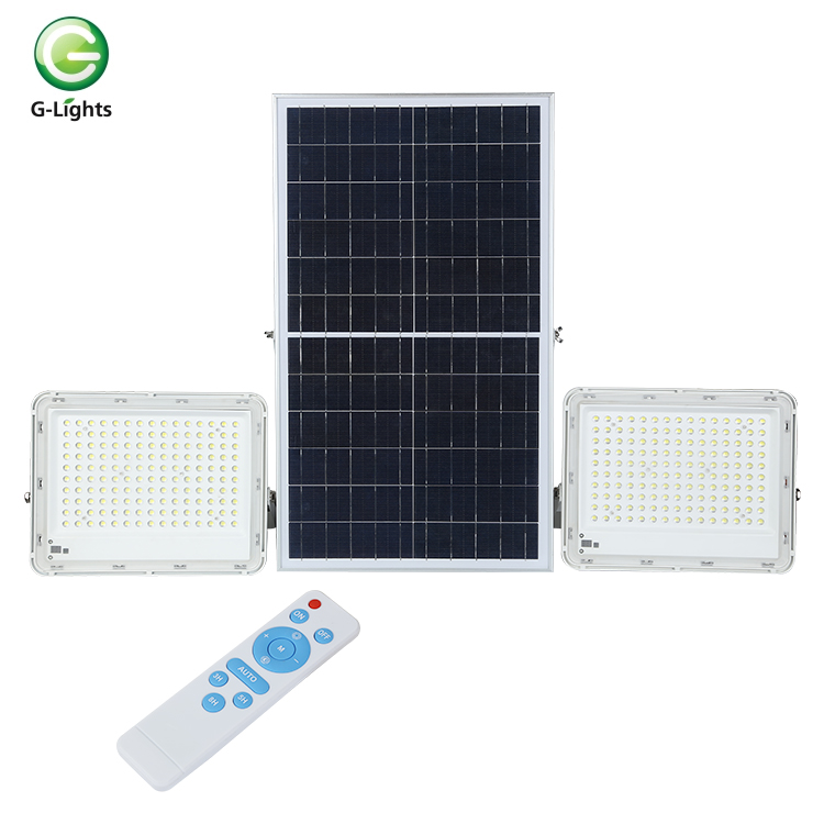 High lumens Warm White outdoor IP65 waterproof Cast Aluminum 50 100 150 200 300 <strong>w</strong> solar led flood light