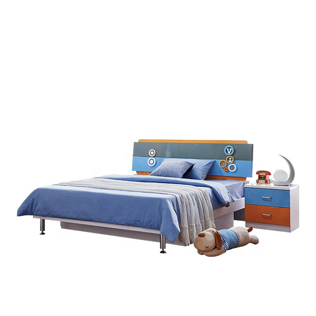 Foshan 8106 classic king size children bed kids bedroom <strong>furniture</strong>