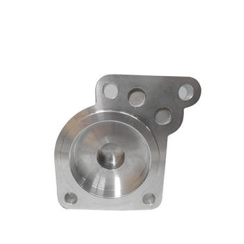 Densen customized aluminum gravity casting and machining and Surface anodic oxidation release valve cover for high speed train