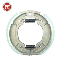 Good OEM Quality Spare Parts Of YBR125 Motorcycle Brake Shoes