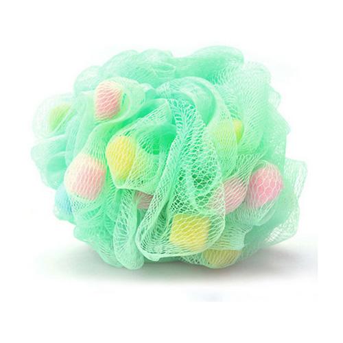 mesh shower puff mesh bath ball BS-001