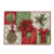 Factory Wholesale Christmas Holiday Placemat Woven Place Mat Home Decoration
