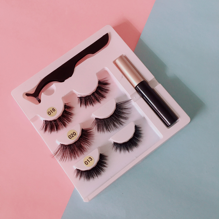 2019 New Trending Professional <strong>Manufacture</strong> of Liquid Eyeliner Magnetic with Magnetic Eye Lash kits