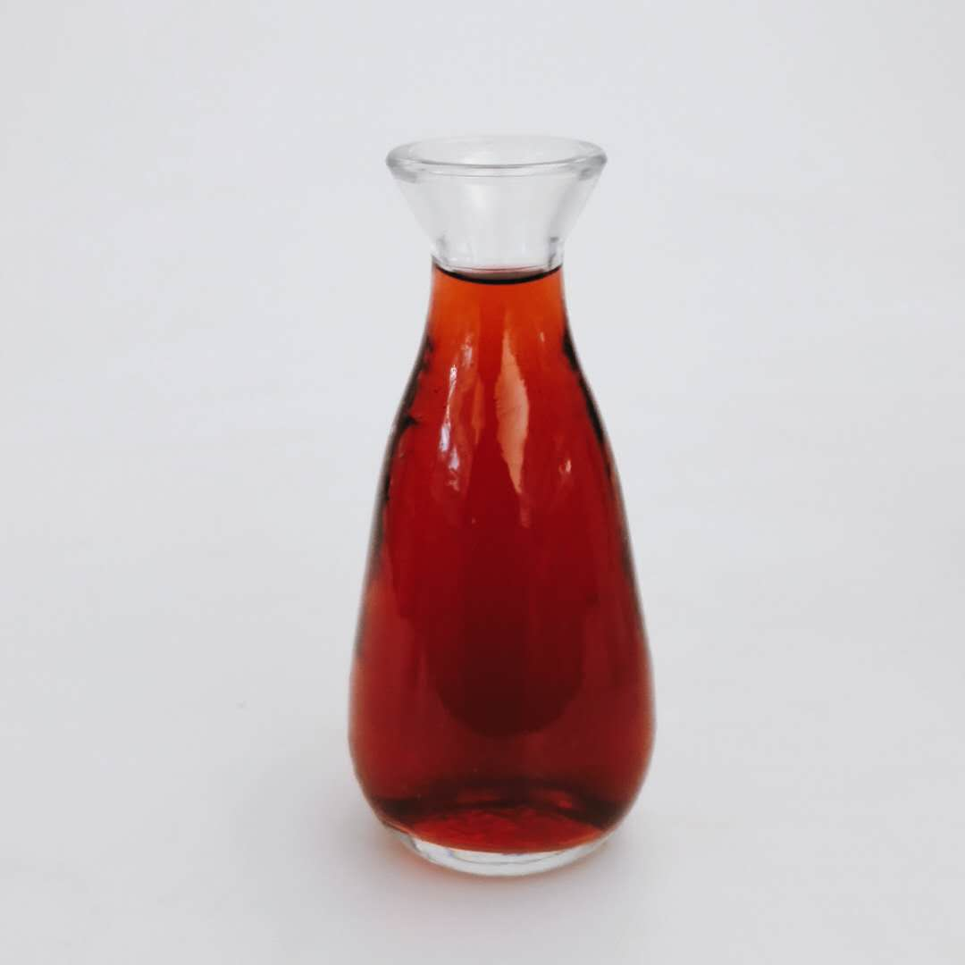 100ml 150ml 240ml food grade glass taverns use empty wine bottle/cup