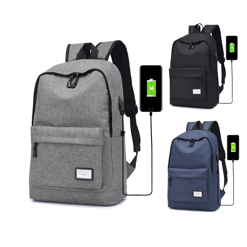 2019 newest fashion bag back mens sports leisure wholesale bagpack school laptop travel and college usb black <strong>backpack</strong>