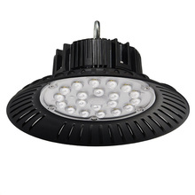 100W 150W 200W High Luminous High Bay Light Efficiency Metal Ring Lens Spinning UFO High Bay Light With 160LM/<strong>W</strong>
