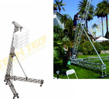 Aluminium Speaker Tower ,aluminum truss lift tower for speakers