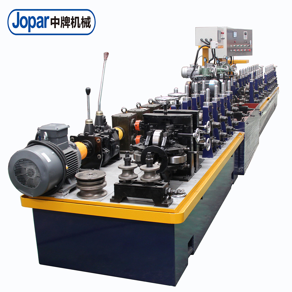 JOPAR Iron Tube Making Machine / Oval / Round Tube Mill <strong>Equipment</strong>