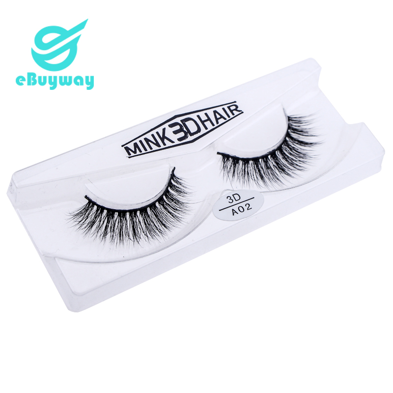 3D Mink lashes Custom package Private label eyelashes OEM and ODM <strong>A02</strong>