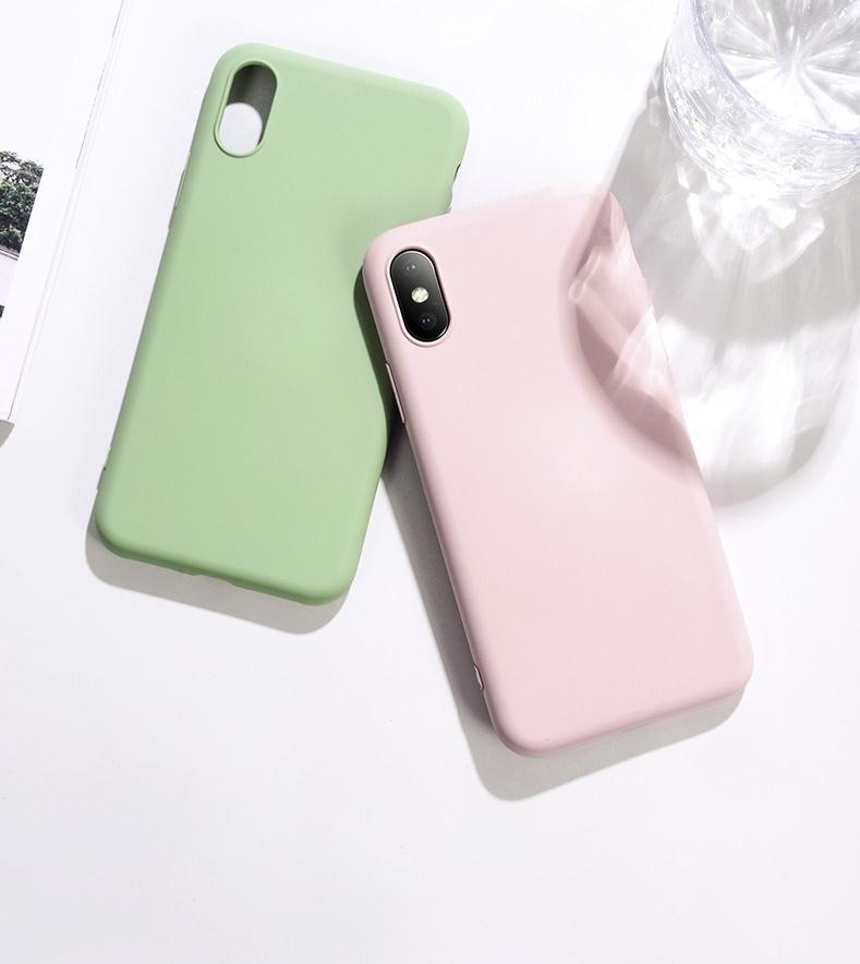 2020 Liquid silicone mobile <strong>phone</strong> case for Iphone 6s 7 7s 8 X XS XSMAX hot quality <strong>cell</strong> <strong>phone</strong> protector