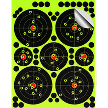 Shooting Targets <strong>12</strong> <strong>x</strong> <strong>12</strong> inch Sight in Stick Splatter Self Adhesive Shooting Targets