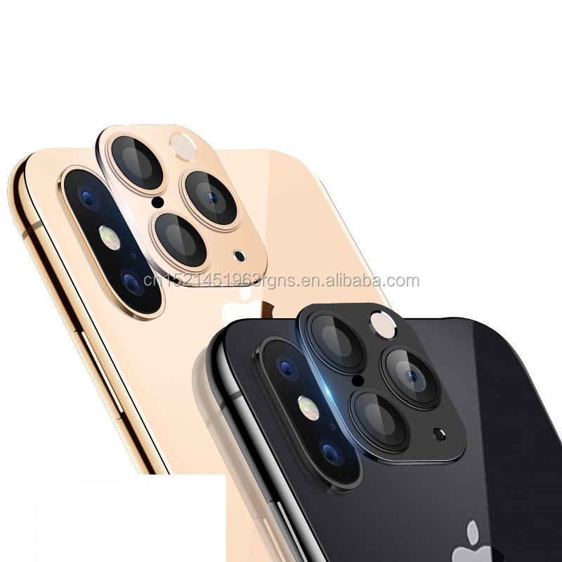 latest <strong>1</strong>:<strong>1</strong> glass Camera Cover For iphone x/xs/xs max Change iphone 11 pro 9H Glass Camera Protector With Flash light Hole