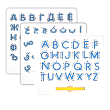 Educational Toys 26 Alphabet tracing Upper Case Erasable Magnetic Drawing Boards magpad for <strong>kids</strong>