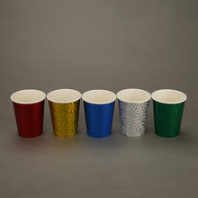 Wholesale Colorful Shiny <strong>Paper</strong> Cup For Festival Gift