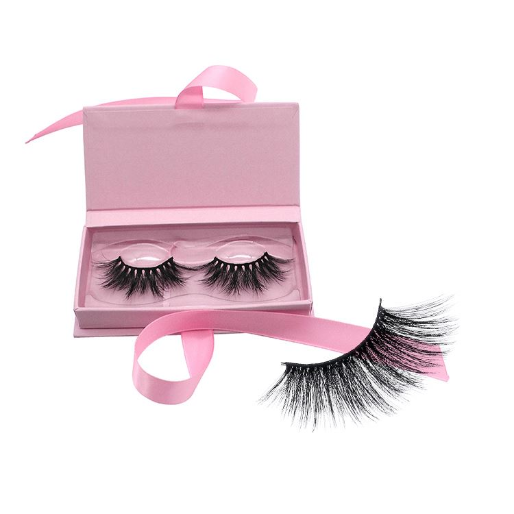 <strong>D12</strong> 6d Silk Mink Lashes Private Label Custom Packaging 25MM eyelash