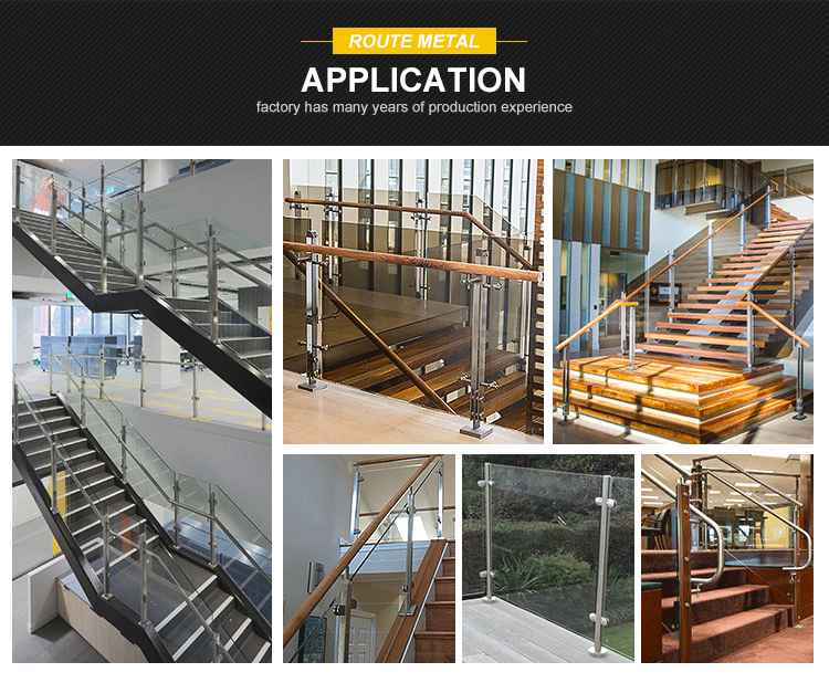 Railing post for glass stair/balustrade/balcony sale