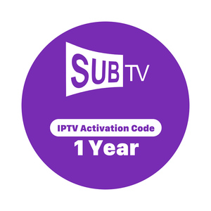Balkan IPTV Account Subscripton SUBTV 1 Year Czech Romania Hungary and Ex Yu Channels IPTV