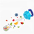Hot Sell Colourful Speckle Grade Food Silicone Baby Fruit Feeder  Pacifier with Handle