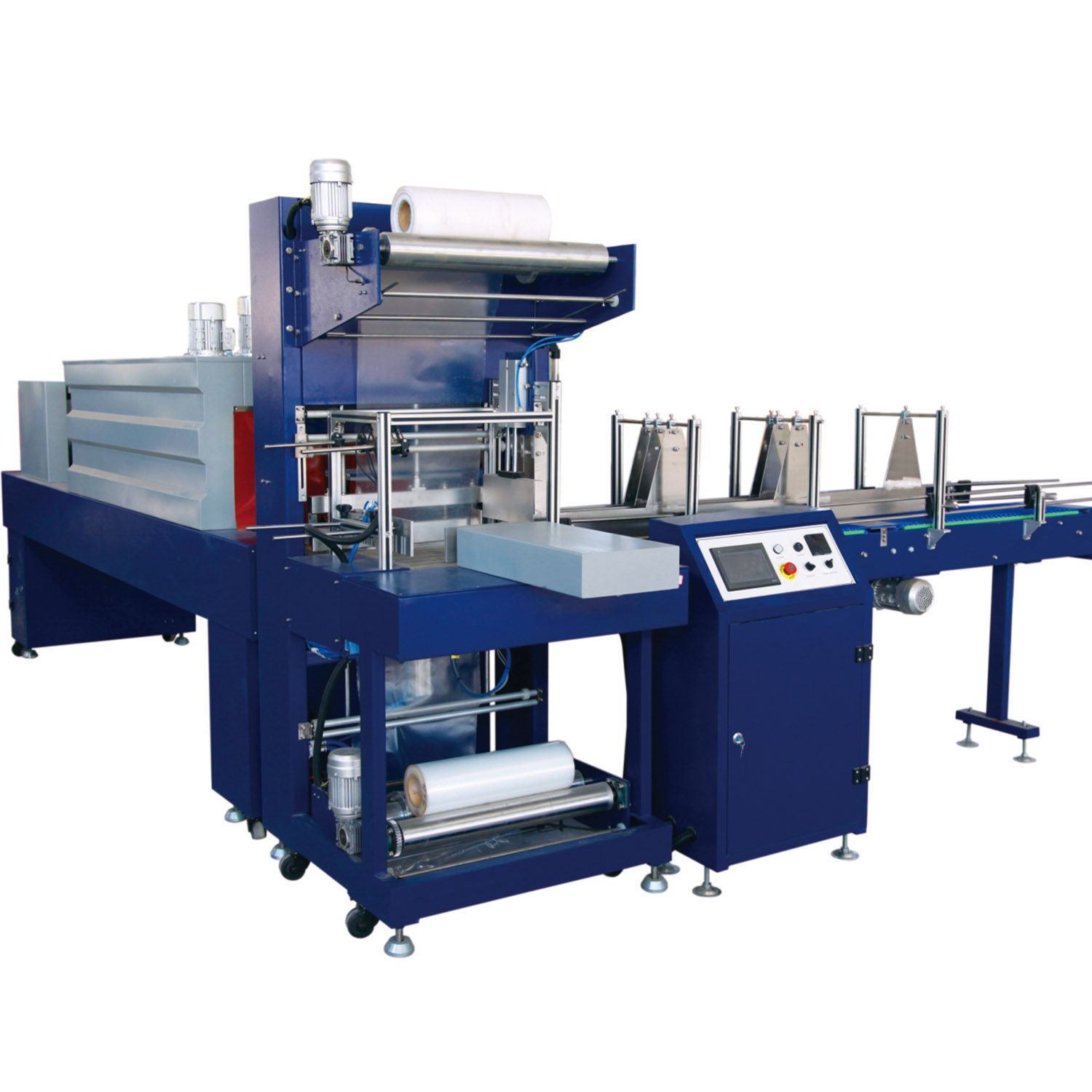 Factory direct semi-automatic multi-function PE film shrink wrapping packaging machines