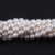 9-10mm A Pearl Natural White Rice Freshwater Pearls Strands