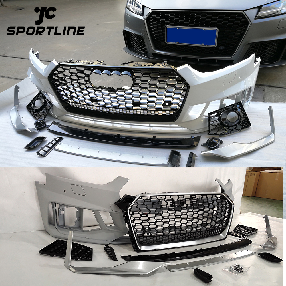 FOR AUDI A5 S5 2017-2019 FRONT BUMPER GRILLE HONEYCOMB HOOD GRILL RS5 STYLE