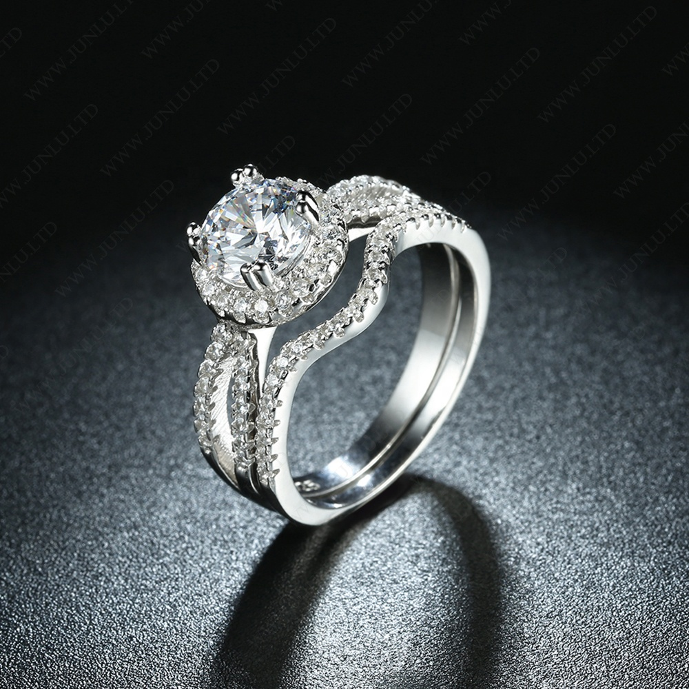 New style Promise rings for couples matching platinum couple price ring