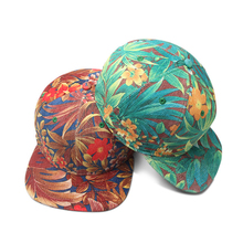 Custom <strong>Flat</strong> bill Snapback Hat With plant dye color designed New fashion Sport Hat