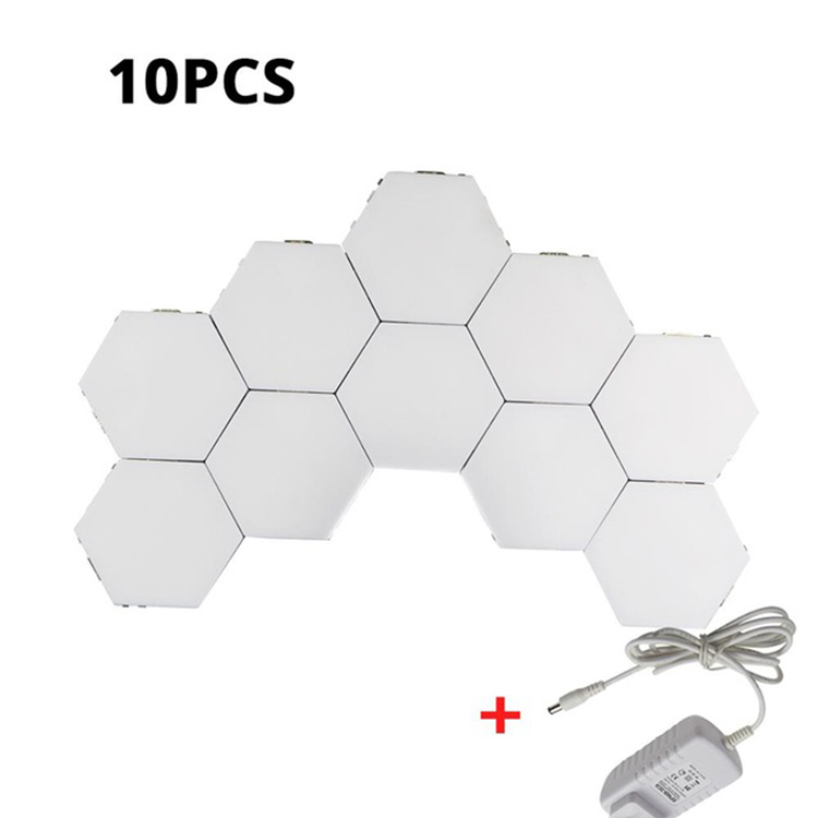 Led Hexagonal Lamps Modular <strong>Touch</strong> Sensitive Lighting Magnetic Hexagons Creative Decoration Wall Quantum Led Night Light