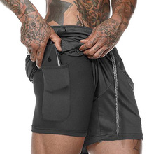 2019 Quick Dry Mens <strong>Sports</strong> Running 2 IN 1 Shorts Active Training Exercise Jogging Shorts With Longer Liner 5 Colors M/X/XL/XXL