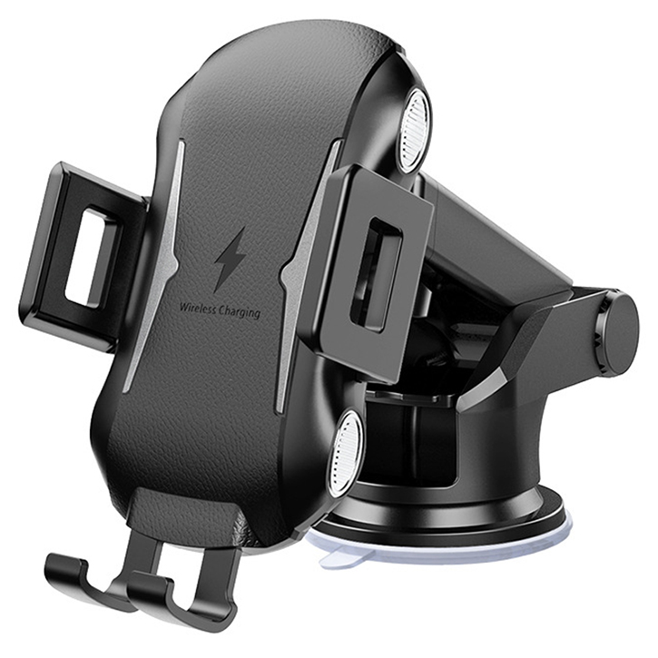 WH-618 wireless automatic sensor car phone holder charger 10w qi fast charging mount phone holder C9 <strong>C10</strong> C11 R9 E5 X5 X8
