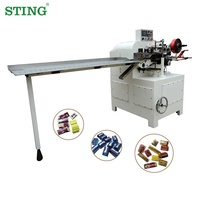 Small Block Fold Chocolate Foil Wrapping Machine Price