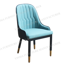 Hot sale restaurant chair with leather <strong>furniture</strong>