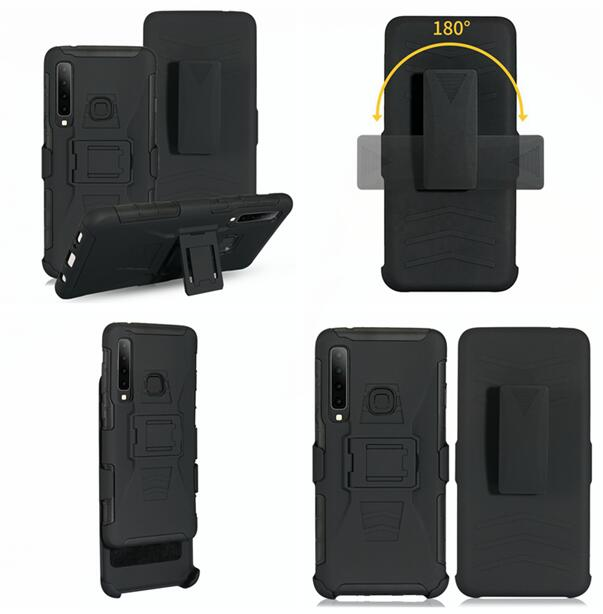 Kickstand Clip Belt Holster Armor Case For Huawei Y3 Y5 Y7 Y9 2018 NOVA 3i <strong>P</strong> Smart Plus Y9 2019 <strong>P</strong> Smart Z Skin Cover