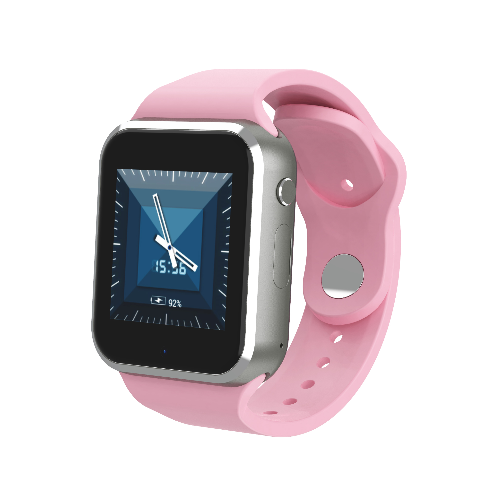 2019 new arrivals square alloy <strong>case</strong> silicon rubber strap <strong>Q10</strong> sport smart watch colorful
