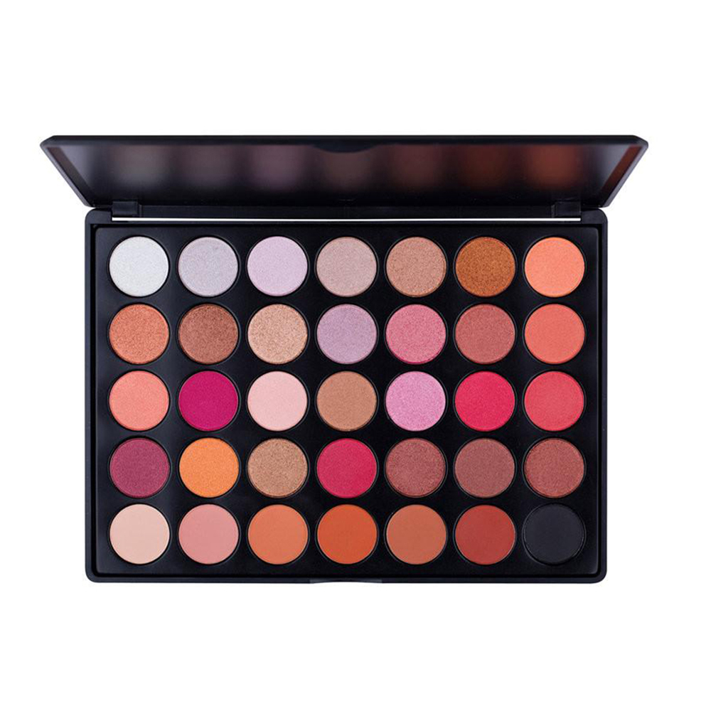 35 color eye shadow tarte manly <strong>cosmetics</strong> makeup eyeshadow shimmer mineral palette Powder without logo