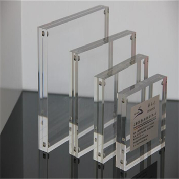 Hot Sale Transparent acrylic double sided photo / picture frames 5x7 glass picture frames with magnets