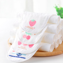 3 pcs cute baby absorbent sweat towel toddler soft gauze towel infant back towel