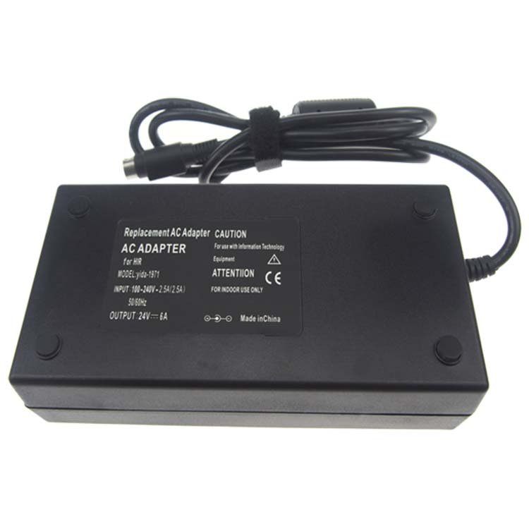 CE RoHS FCC 24V 6A 144W desktop adapter switching power supply for LED/LCD/CCTV camera