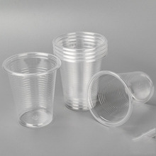 Disposable Clear Plastic Cups 9 oz 10 oz PLA 100% Biodegradable Cup