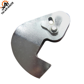 Lock coated sand shell mold casting to be customized