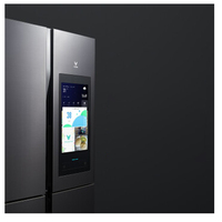 double french bottom freezer High quality Four open door Refrigerator