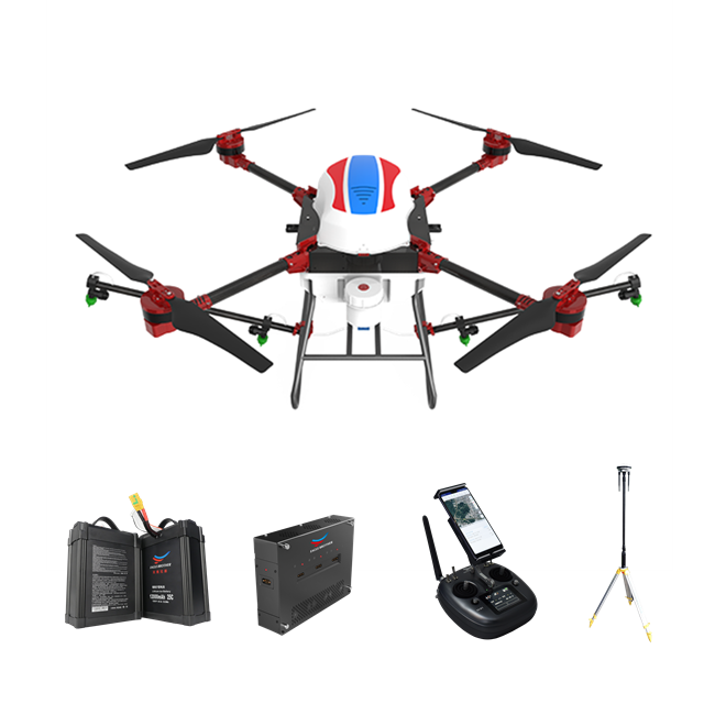 <strong>D10</strong> Eagle Brother D-series Agricultural Drone Sprayer 10L Tank, 4 Rotor classic module, quick fold, 12000mah Lip Battery